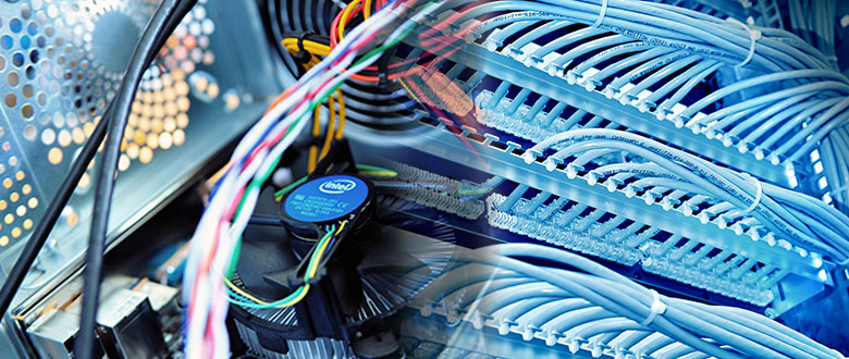 DeKalb Illinois On Site Computer PC & Printer Repair, Network, Voice & Data Low Voltage Cabling Solutions