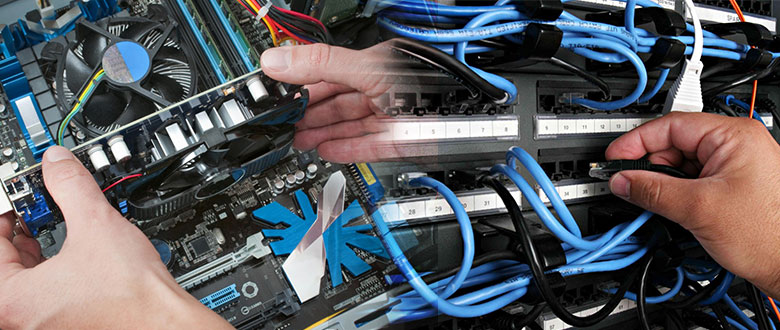 Crystal Lake Illinois Onsite Computer PC & Printer Repair, Network, Telecom & Data Inside Wiring Services