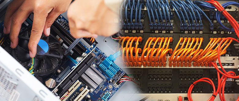 Dixon Illinois On Site Computer PC & Printer Repairs, Networking, Voice & Data Low Voltage Cabling Services