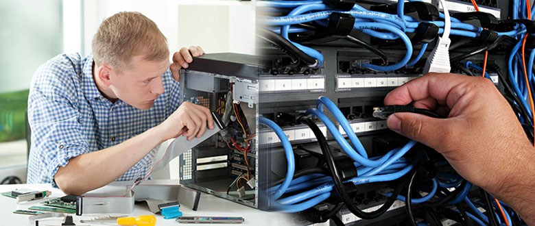 Lake Zurich Illinois On Site Computer PC & Printer Repairs, Networks, Voice & Data Cabling Services